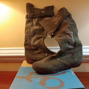 OTBT Clinton Moss Tall Boots